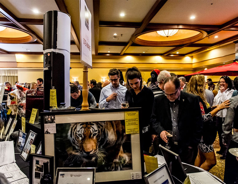 Fundraising event auction tremblant